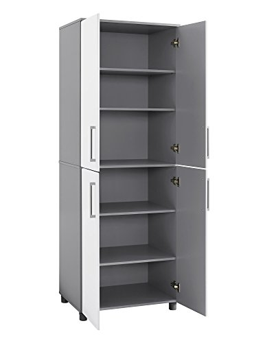 SystemBuild 7470403COM Latitude Tall Cabinet, White