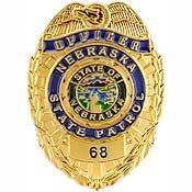 Metal Lapel Pin - US 50 State Police Badge Pin Collection - Nebraska State Patrol