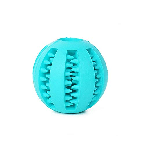Smdoxi Round Football Shape leaker molars Cats and Dogs Toys wear-Resistant Breathable pet Supplies Educational Toys