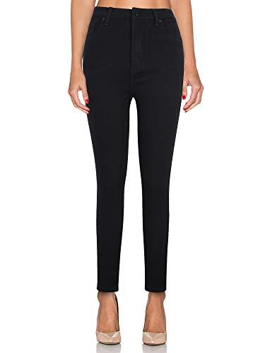 Matita Jeggings Alta Supply Skinny Vita Elasticizzati Leggings Jeans Kt Casual A Pantaloni Nero qPIWw8