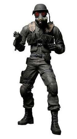 Resident Evil 10th Anniversary Series 1 Hunk Action Figure