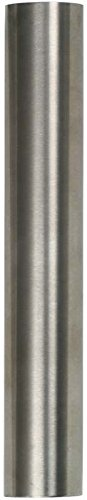 Brushed Finish T 316 Stainless Steel Tube in Various Lengths : 2 Inch OD, 1.88 Inch ID, 1.6 MM Wall, 12 Inches) Intermediate Post