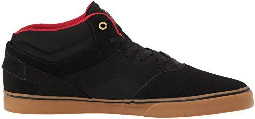 EmericaWestgate Mid Vulc - Zapatillas de Skateboarding hombre negro/marrón