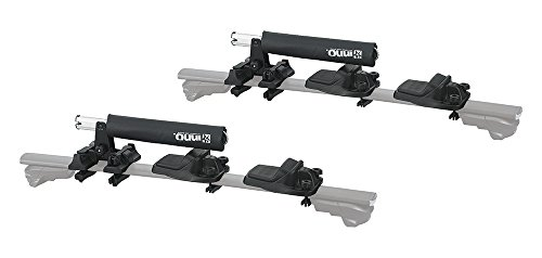 INNO INA455 Easy Mount Foldable (2) Kayak Carrier (Black) by INNO