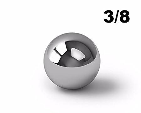 BC Precision 38BCCA12 3//8 Carbon Steel Ball Bearings G500-1000 Balls