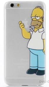 Coque iphone 6 homme debout croque pomme: Amazon.fr: High-tech