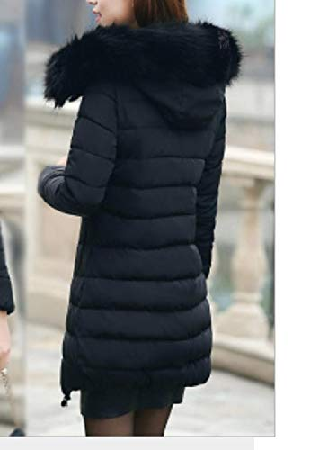 Classic Slim RkBaoye Mid Down Jacket Puffer Women Long Black Coat Oversized Fit 0TqxqwApE