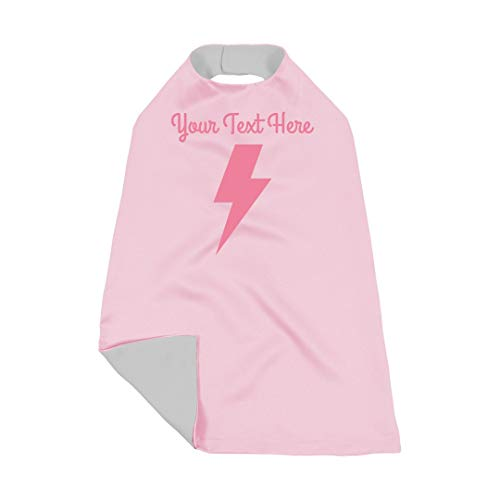 Custom Lightning Bolt Kids Dress Up: Toddler Cape
