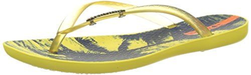 Yellow 21488 yellow Wave Ipanema Donna Fem Infradito Giallo Tropical 0x7qB8R