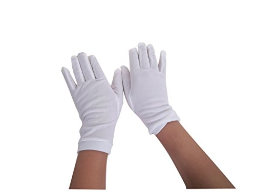 Jacobson Hat Company Baby Girl's Tot's Gloves, White, Tot -