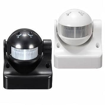 12m 180 grados pir seguridad iluminación detector sensor de movimiento por infrarrojos interruptor hogar al aire