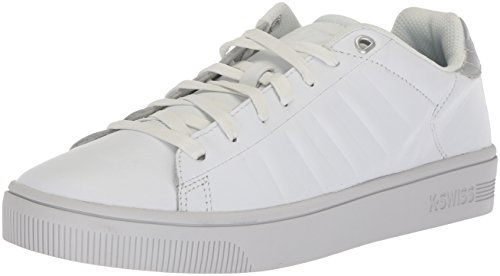 Frasco Court K Swiss Barely Silver Women's White Sneaker Blue qRxPw