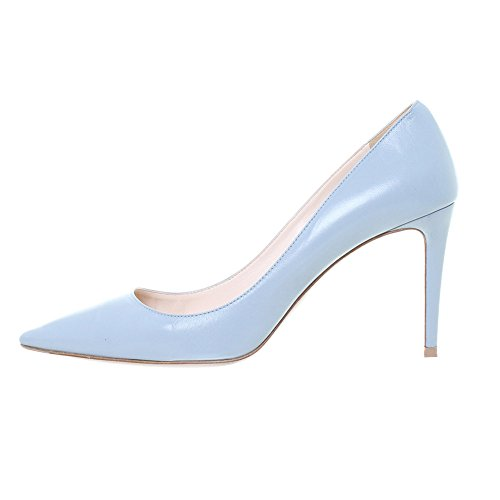 B A Enfiler Escarpins Quotidiennement Taille Femmes Toe Bleu Grande Heels Pointues High Ubeauty Des Chaussures Z46gwqn