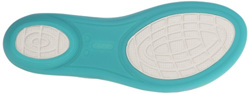 Crocs Isabella Sandal W, Chaussures à Bouts Ouverts Femme, Island Green Vert (Island Green)