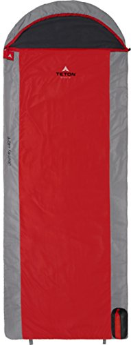 Teton Sports Journey Ultralight Sleeping Bag Perfect for Backpacking, Hiking, and Camping When You Need to Get Outdoors; Designed for Warm Weather Activities; Great for Sleepovers; Lightweight by Teton Sports