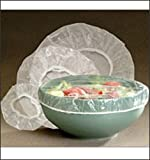 Set of 10 Reusable Elastic Bowl, Dish & Plate Covers - 3 Sizes