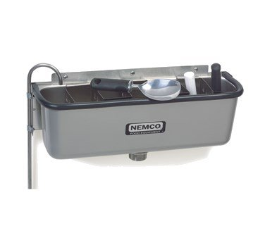 Nemco 77316-19 Ice Cream Spade Cleaning Dipperwell, 20''W by Nemco