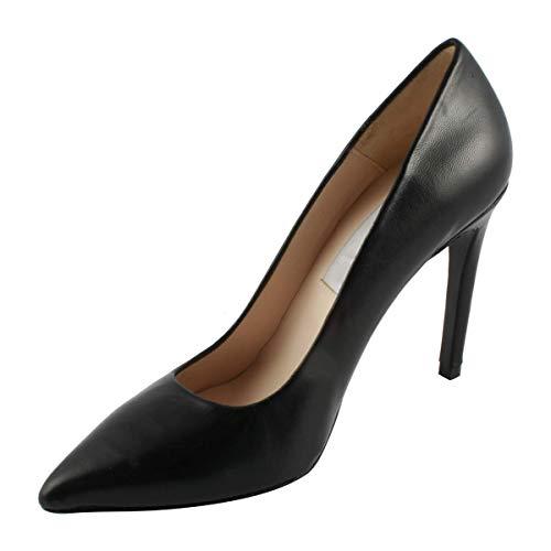 en Noir Talons Chaussures Cuir Cherry à 7nYaqF0