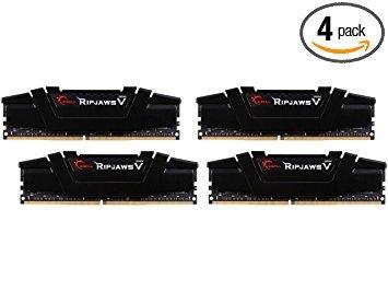 G.Skill F4-3200C16Q-64GVK Ripjaws V Series 64GB (4 x 16GB)