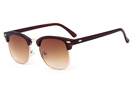 sol moda de calidad gafas hombres sol mujeres Nuevas de C7 alta gafas diseñador mujer C3 ZHANGYUSEN de la Retro de marca remachar lente axHqwfXUU