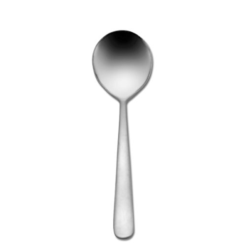 Oneida Bouillon Spoon - Oneida Foodservice B401SBLF Windsor III Bouillon Spoons, 18/0 Stainless Steel, Set of 36
