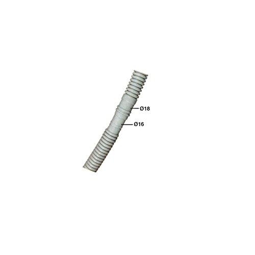 5 MTS. Tubo corrugado /Ø16 con macho//hembra /Ø18-20 para condensados