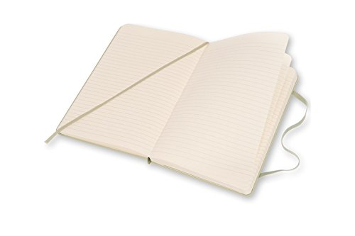 Moleskine Classic Notebook, Large, Ruled, Willow Green, Hard Cover (5 x 8.25) by Moleskine (Image #3)