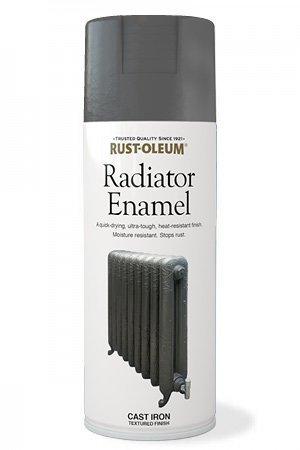 Rust Oleum Ultra Tough Radiator Enamel Aerosol Spray Paint 400ml
