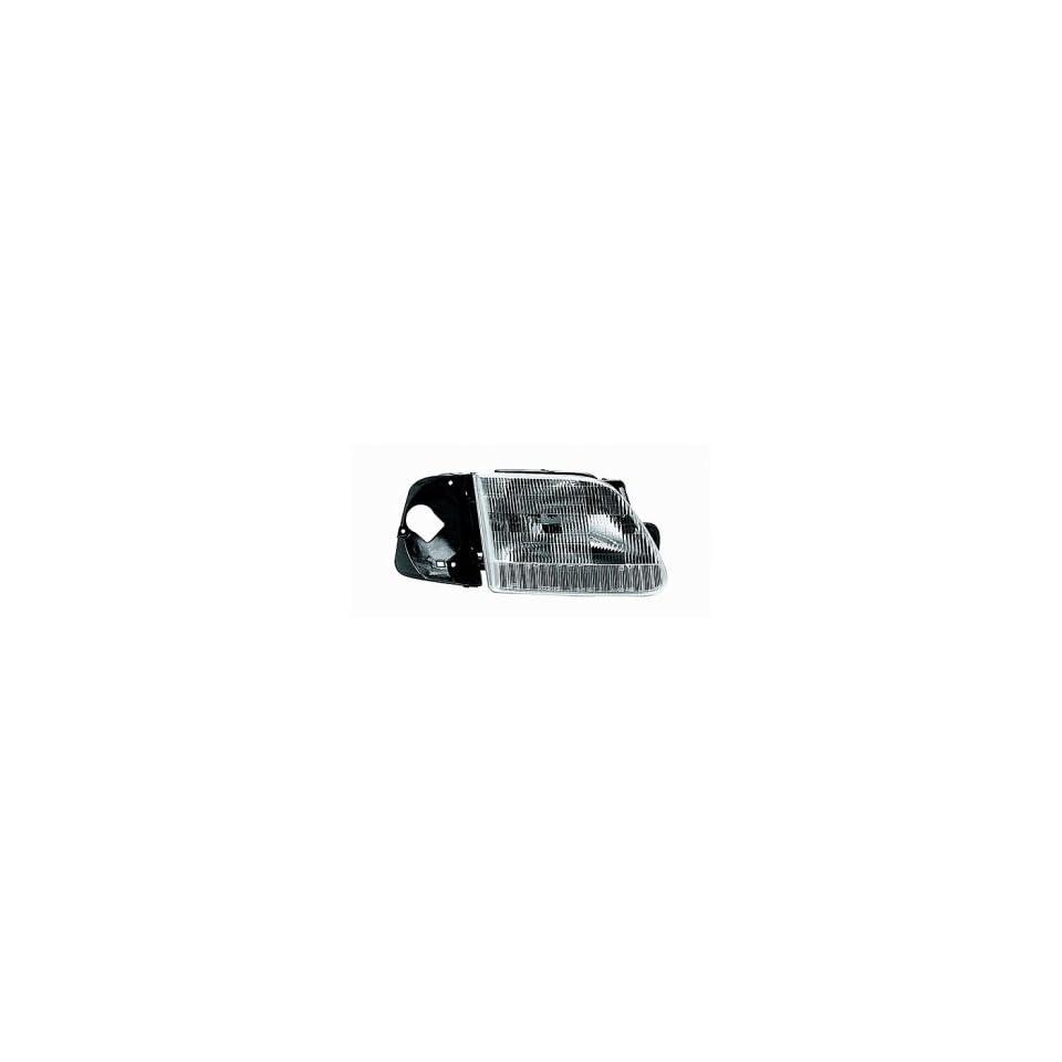 97 97 Ford F Series Heritage Pickup Headlight (Passenger Side) (1997 97) F65Z 13C192 AA Headlamp Right