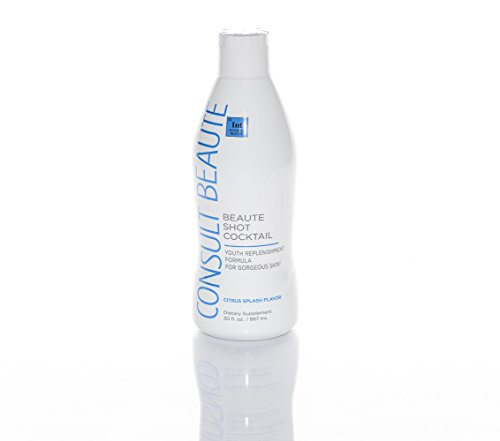 Antioxidant Skin Beauty Cocktail (Consult Beaute Beaute Shot Cocktail for Youthful Skin 30 oz Citrus Splash)