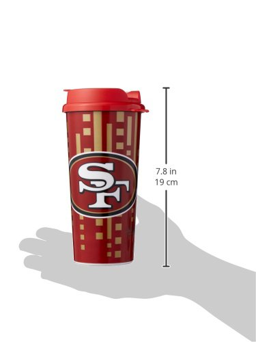 16-Ounce The Memory Company NFL Mens NFL Travel Cup
