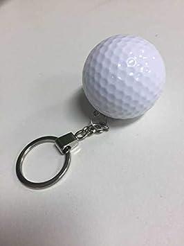 Blueqier Creativo Mini Pelota de Golf en Forma de Llavero ...