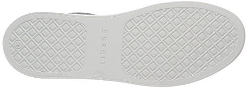 Esprit Lizette Lace Up - Zapatillas Mujer Plateado (090 Silver)