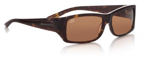 Serengeti - Fotocromática Sarca gafas de sol marrón tortuga ...