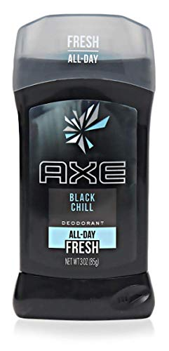 AXE Deodorant Stick for Men, Black Chill 3 Ounces (Pack of 3)