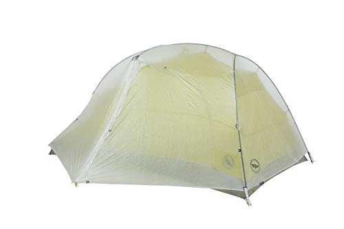 (Big Agnes Tiger Wall 2 Carbon Ultralight Backpacking Tent (with Dyneema), 2 Person, Gray)