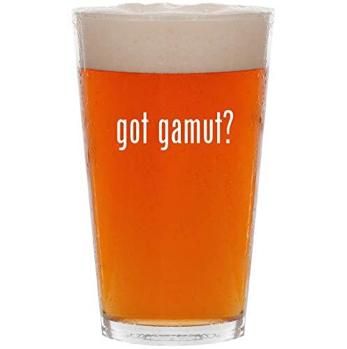 - got gamut? - 16oz All Purpose Pint Beer Glass
