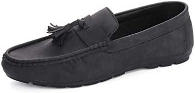 モカシン スリッポン メンズ ローファー ビジネスシューズ 防水 ラウンドトゥ ローカット 学生靴 レインシューズ 雨 幅広 甲高 仕事用 就活 冠婚葬祭 新生活 ドレスシューズ 大きいサイズ 紳士靴 メンズ靴 靴 運転靴