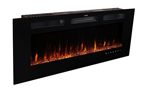 gas fireplace in wall - 5