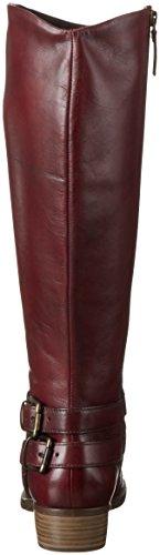 Tamaris 1-1-25525-27, Botas Altas Mujer Rojo (Scarlet 501)