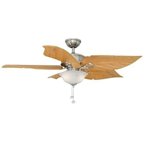 ... Costa Mesa 56 In. Brushed Nickel Ceiling Fan - Lighting & Ceiling Fans