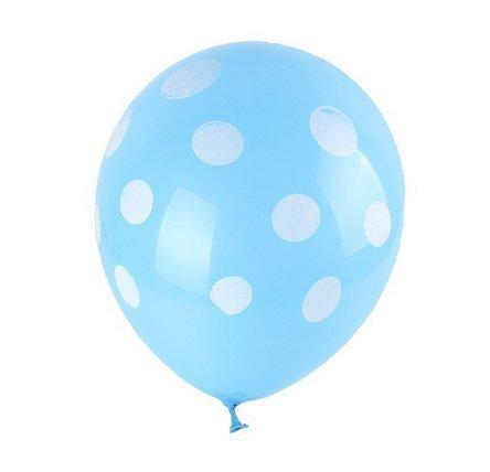 [해외]Lokman 12 라텍스 폴카 도트 풍선 100 대/Lokman 12  Latex Polka Dot Balloons 100 Per Unit