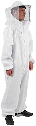 Andifany Cotton Beekeepers Bee Suit Professionale Full Body Bee Remover Guanti Hat Clothes Jaket Tuta Protettiva Attrezzature Apicoltura-XL