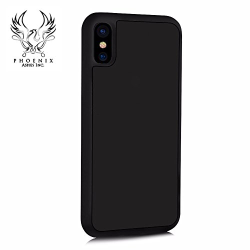 iPhone X Case, Anti-gravity Phone Case For iPhone X Magic Sticks Anti gravity Nano Suction Technology Protective Cover, Best Seller, Mirrors, Windows, Kitchen Cabinets, Tile, non-porous surfaces.