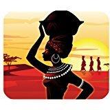 beautiful-african-woman-afrocentric-customized-rectangle-office-mousepad