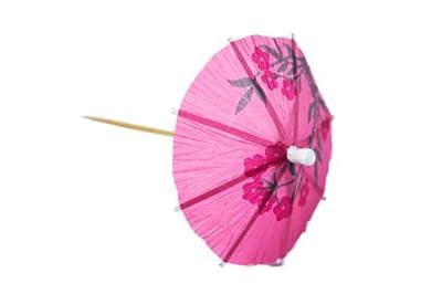 Perfect Stix Parasol pick 288ct Tropical Drink Umbrella Picks (Pack of 288)