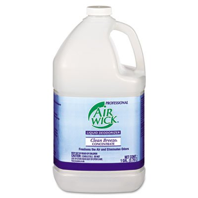 Wizard Deodorizer Liquid (Liquid Deodorizer, Clean Breeze, Concentrate, 1gal, 4/carton.)