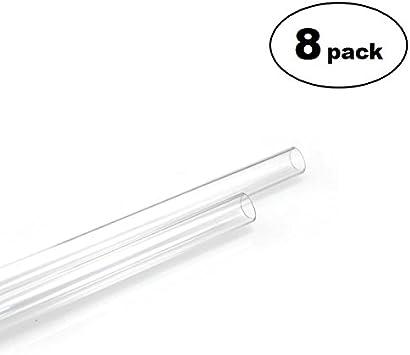 Clear 14mm OD 4-pack New XSPC PETG Tubing 10mm ID 0.5m