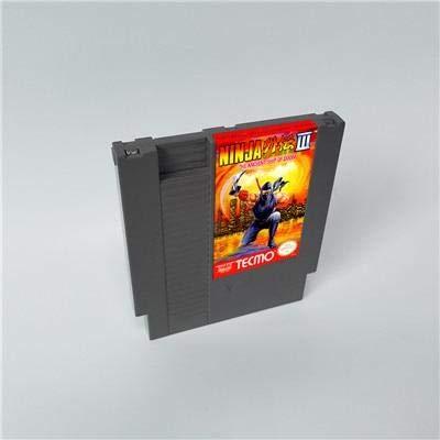 Ninja Gaiden Super Nintendo - Ninja Gaiden III The Ancient Ship of Doom - 8 Bit Game Card for 72 pins Game Cartridge Console