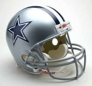 Creative Sports RD-COWBOYS-R Dallas Cowboys Riddell Full Size Deluxe Replica Football Helmet ()